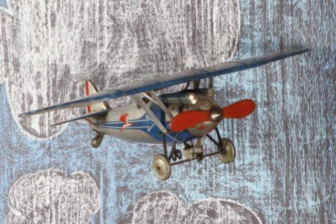 """Avion monoplan Dewoitine """"escadrille des cigognes"""" F255"""
