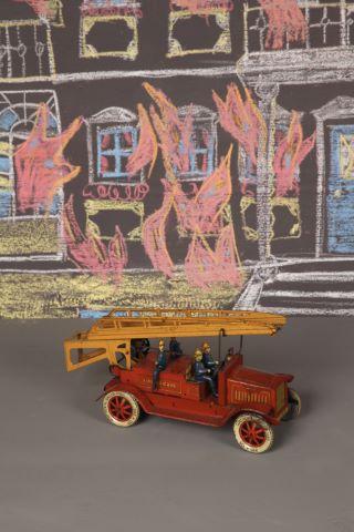 Voiture de pompiers GD1614