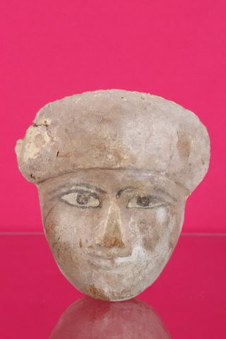 Fragment de masque de sarcophage