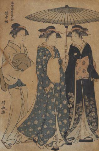 2 estampes japonaises