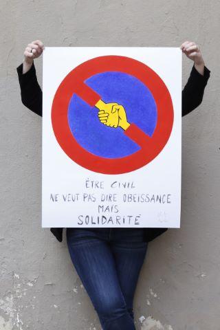 Être civil ne veut pas dire obéissance mais solidarité