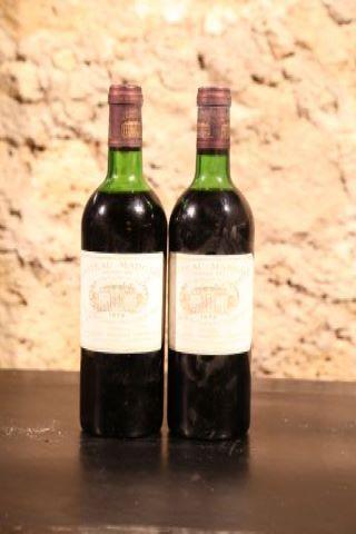 2 bouteilles 1976