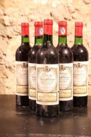 5 bouteilles 1974