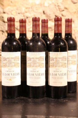 6 bouteilles 2001