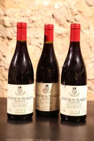 3 bouteilles 2002
