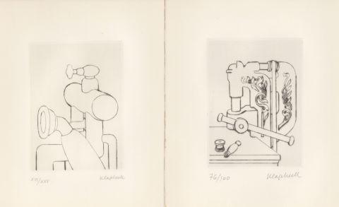 Man Ray (1890-1976) / Konrad Klapheck (né en 1935)