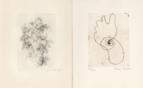Hans Richter (1888-1976) / Bernard Schültze (1915-2005) / Camille Bryen (1907-1977) / Bona de Mandiargues (1926-2000) / Joseph Duncan (né en 1920)