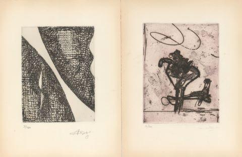 Roberto Matta (1911-2002) / Augustin Cardenas (1927-2001) / Mimi Benoît Parent (1924-2005) / James Metcalf (1925-2012) / Marcel Janco (1895-1984)