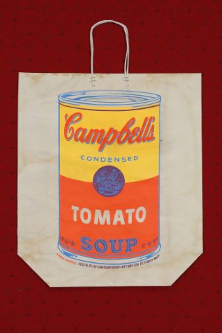 Campbell's Soup Can On Shopping Bag