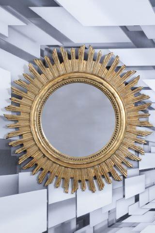 Miroir rayonnant