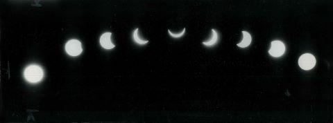 Éclipse vue depuis la côte Est des États-Unis