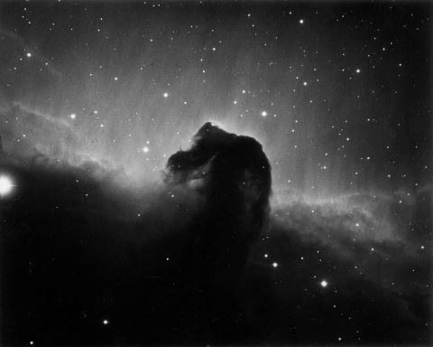 Nébuleuse à tête de cheval (Barnard 33) dans la constellation d'Orion