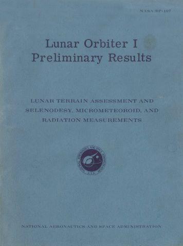 Résultats préliminaires de la mission Lunar Orbiter 1