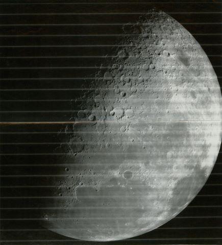 Pôle Nord de la Lune