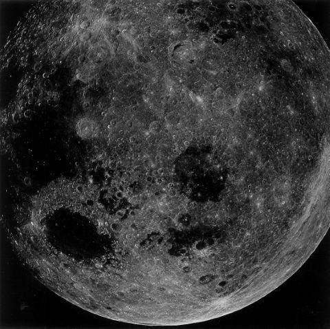 Belle vue de la Lune