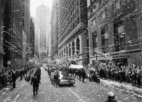 Parade à Chicago en l'honneur des astronautes d'Apollo 13