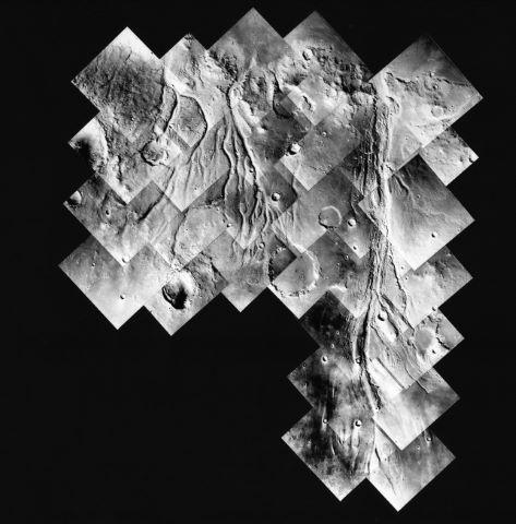 Les Rivières fossiles de Mars : découverte majeure du programme Viking