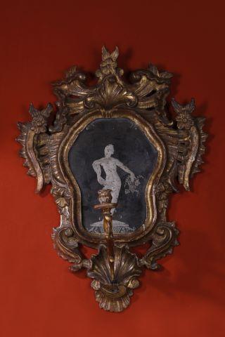 Miroir porte-lumière