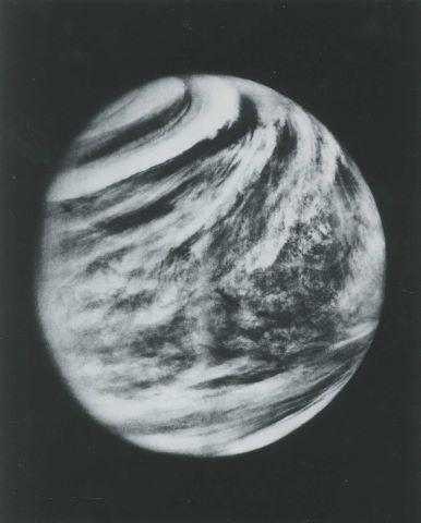 Vue de Vénus à 720 000 km, Mariner 10