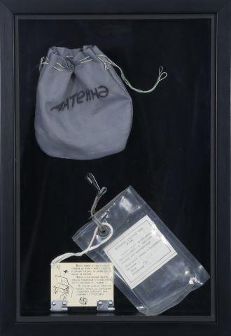 Miroir de secours dans son sachet d'origine (Emergency mirror)