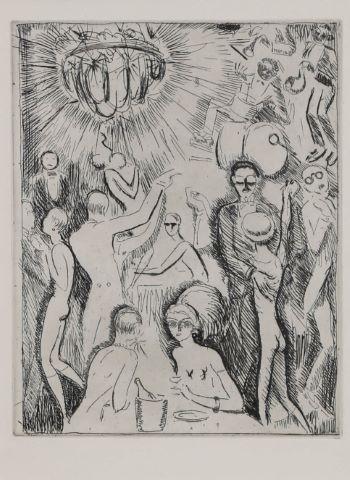 D'après Kees van Dongen (1877-1968)