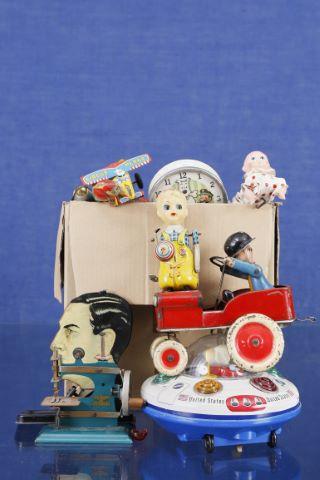 Important ensemble de jouets mécanique ou à piles