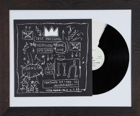 D'après Jean-Michel Basquiat (1960-1988) & D'après Banksy (né en 1974)