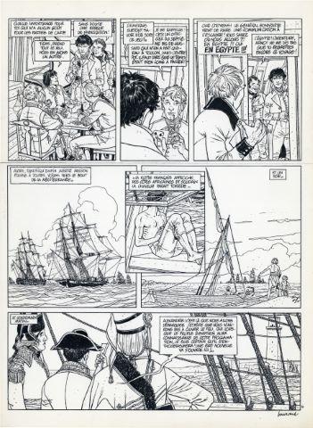 Arno, Tome 2, L'Œil de Kéops, planche 4