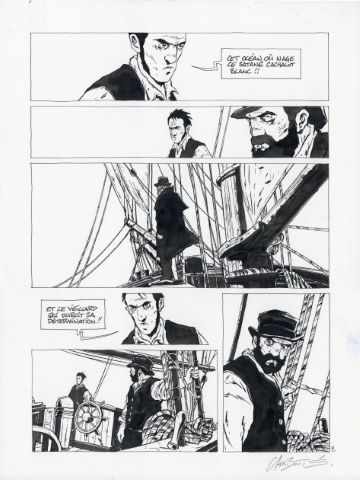Moby Dick, Tome 2, planche 9