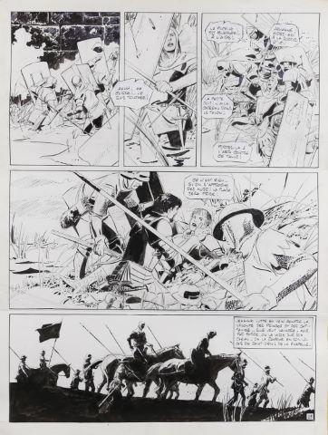 Jehanne La Pucelle, La Sève et le sang, Tome 2, planche 23