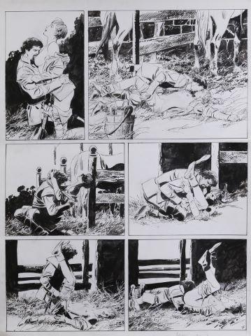 Jehanne La Pucelle, La Sève et le sang Tome 2, planche 17