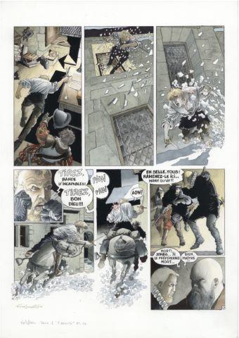 Les Chemins de Malefosse, L'Escorte, Tome 1, planche 13
