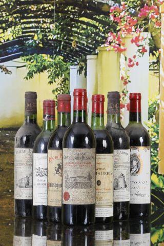 Ensemble de 8 bouteilles