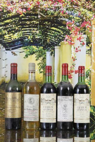 Ensemble de 5 bouteilles