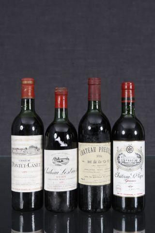 Ensemble de 4 bouteilles