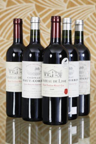5 bouteilles