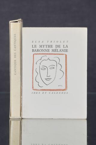 2 livres illustrés par Henri Matisse