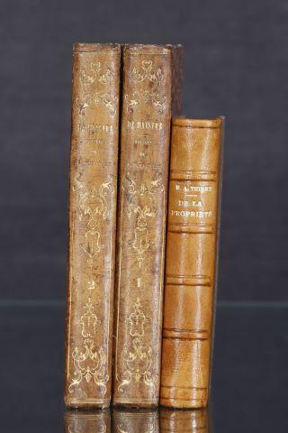 3 livres du XIXe siècle