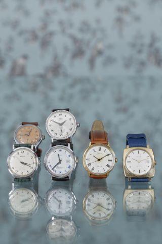 6 montres