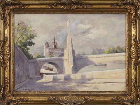 L. Bouchard ? école française du début du XXe siècle