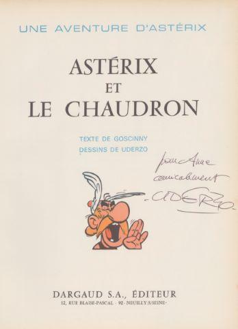 Albert Uderzo (1927-2020) et René Goscinny (1926-1977)