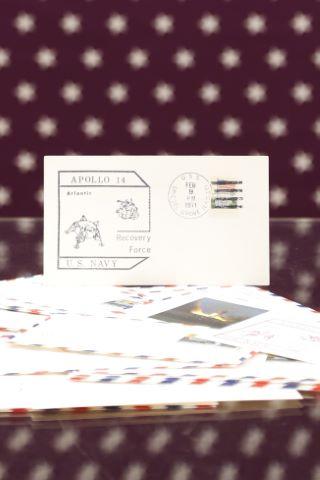 Ensemble de 27 enveloppes, Apollo 14