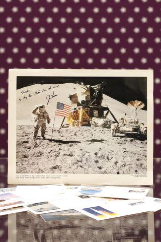 Ensemble de documents relatifs aux missions Apollo 13, 15, 17 et Apollo-Soyouz