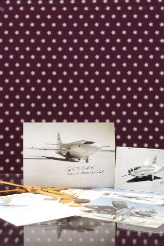 Ensemble d'autographes de pilotes militaires et de pilotes d'essai