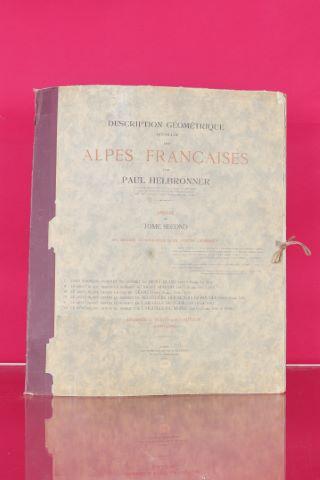 Description géométrique détaillée des Alpes françaises, les origines icnonographiques de l'oeuvre géodésique
