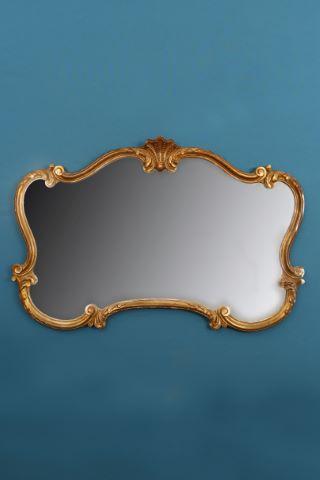 Miroir chantourné