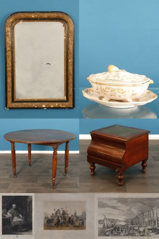 Ensemble de meubles et objets d'art