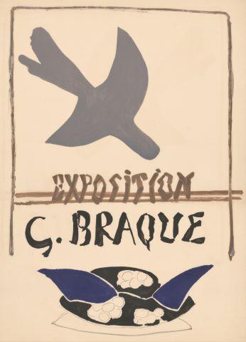 Exposition G. Braque