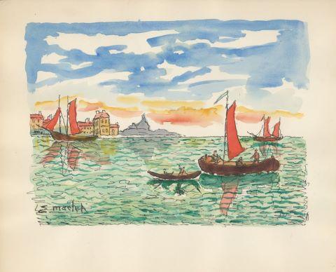 Vues de port [2 œuvres]