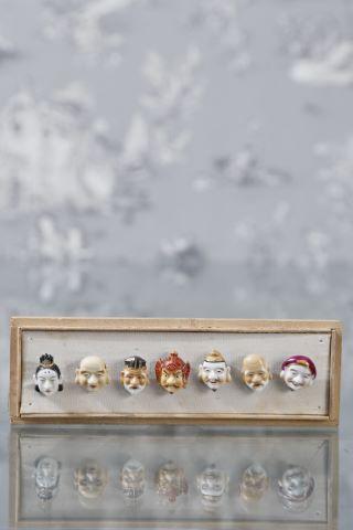 7 boutons de collection